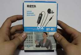 BOYA BY-M1 Microphone for mobile and cameras (TCS COD ALSO)