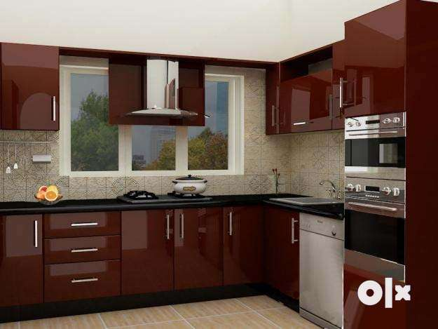 Mark As Favorite Show Only Image. All Inclusive Modern Stylish Modular  Kitchen ...