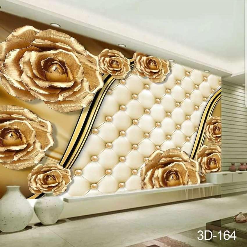 Wallpaper Wallpaper Dinding 3d Sangat Cantik Dekorasi Rumah 787226719