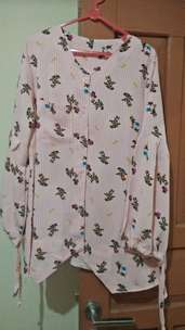 baju motif bunga fit to xl
