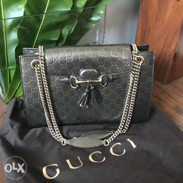 7f0f34cc2 Gucci Emily Guccissima Chain Shoulder bag in Quezon City