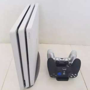 Playstation 4 PRO 1TB WHITE + Dualshock + stand