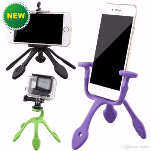 Hot Product > Ungu Tripod Gecko Flexible Purple Kudu Punya Barang Yan