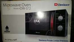 Dawlance microwave oven model DW-372 23 litres unused