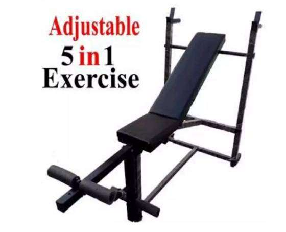 Cool Adjustable Bench Press 5 In 1 Exercise Bench Gmtry Best Dining Table And Chair Ideas Images Gmtryco