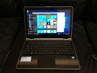 Ready Laptop HP pavilion x360 Gold Touch Screen Ci3-6006U Body mulus