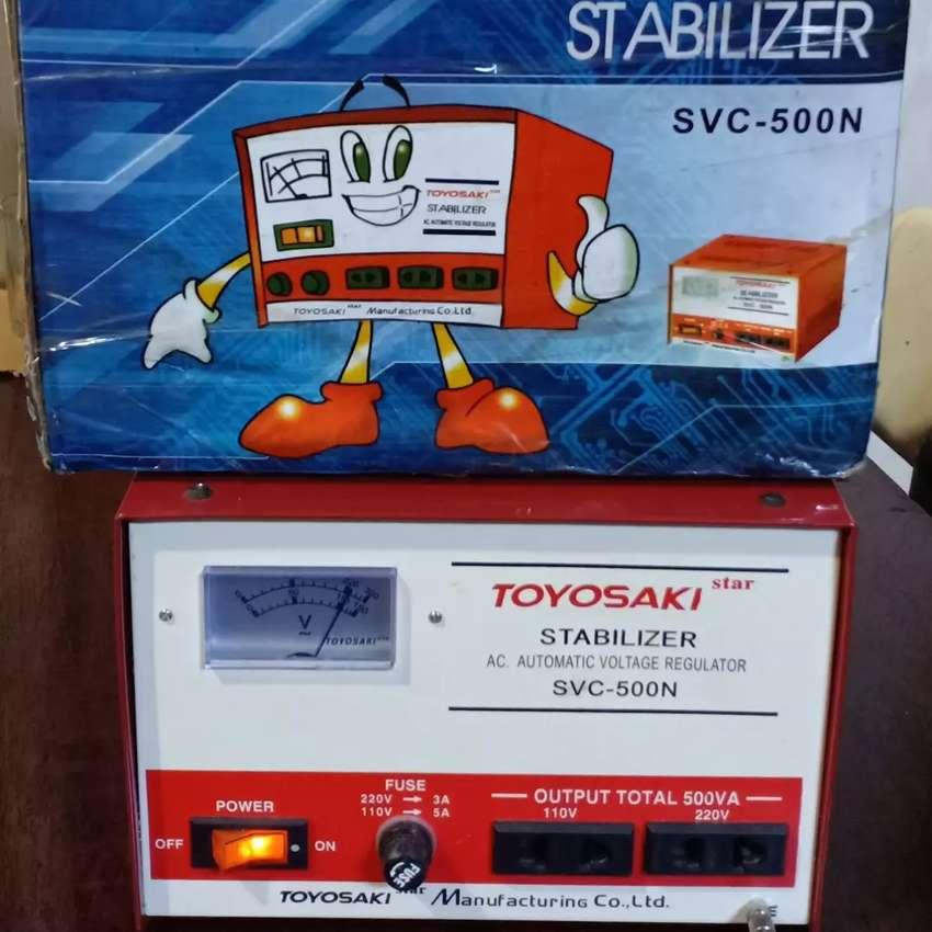 Stabilizer Toyosaki Svc 500n Auto Return Elektronik Rumah Tangga 796805889