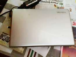 Used, Silver Toshiba Laptop for sale  Vengara