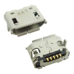 Connector charger All Type 5 pin / bb 8520 ; serfis sukses sparepart