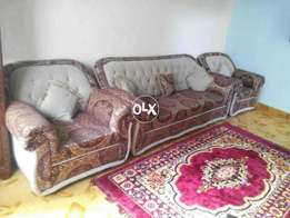 Sofa set available just like new