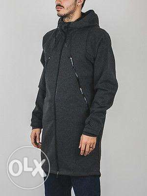 cheap for discount 62230 128b8 Air Jordan tech fleece parka jacket nike adidas lebron zara kobe topma ...