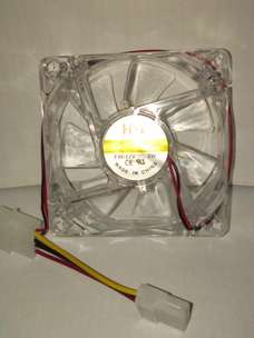 Case CPU Cooler Cooling Fan 8cm Mini led