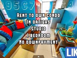 Rfo Studio Type 5 Dp Only Move In Kana Rent To Own Condo Ortigas P