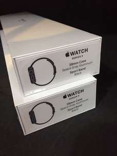 I Watch Series 3 38mm Gray New