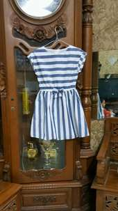 Dress anak import 4/5 thn