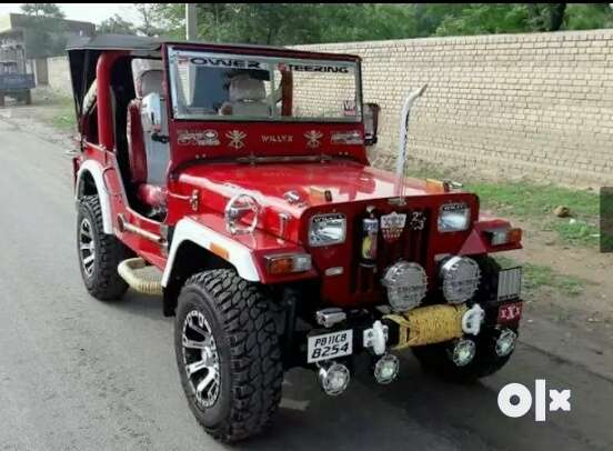 We are build all type of jeep and thars we are