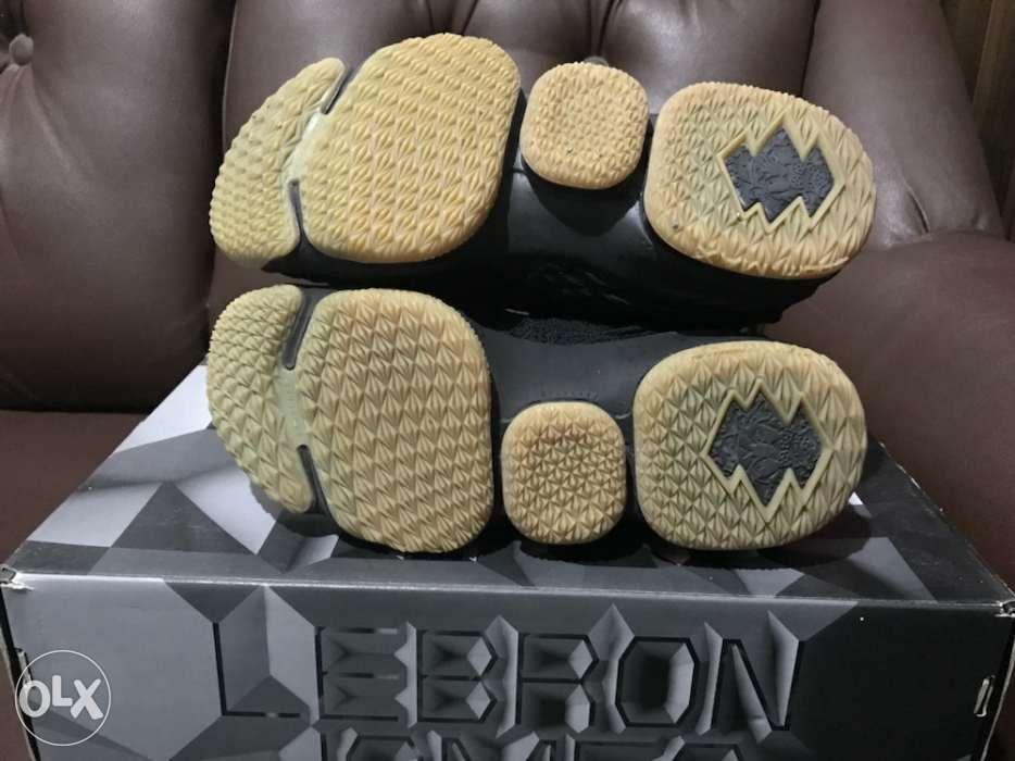 best website eecf1 d3fb3 ... Nike Lebron XV Black Gum size 8US not Jordan Kyrie KD Kobe Dame Adidas  ...