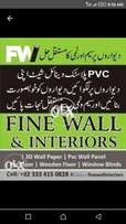 Pvc wall panels and wall paper decore ur home