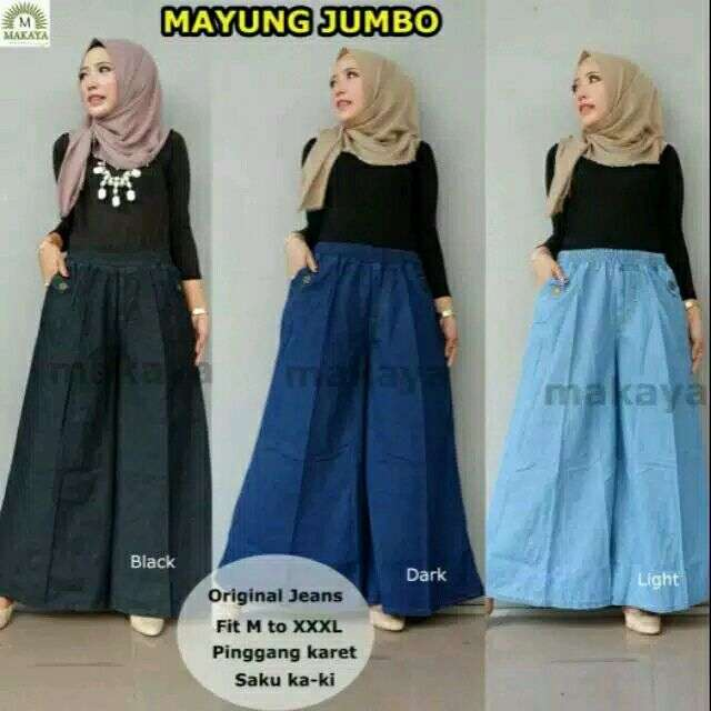 Rok kulot mayung jumbo all sizes