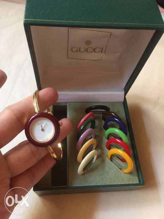 5698458b175 Auth Gucci Bezel Watch from Japan in Manila