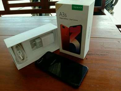 Oppo A3s 3/32 purple second like new