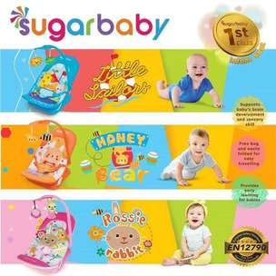 Infant Seat Sugar Baby NEW MOTIF