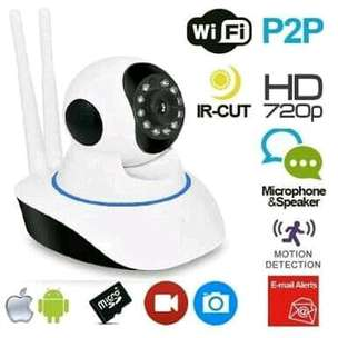 CCTV Camera putar 360 WIFI bisa kontrol via HP dgn Alarm anti maling