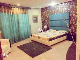 (BAHRIA TWO BED FURNISH FLATS )for rent phase 4..2.6