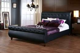 King size BED in leather rite.