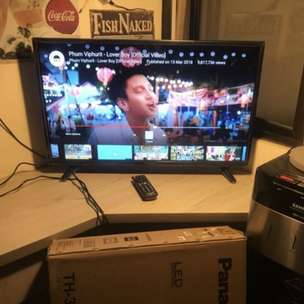 TV Panasonic 32 LED Mulus Fullset