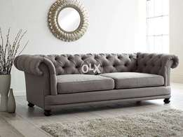 Chesterfield round arms Sofa.
