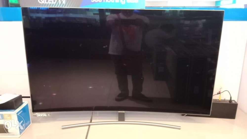 1eb5244e9e4 Samsung 65 4k UHD smart Curved led tv Qled series 8 QA65q8nag in ...
