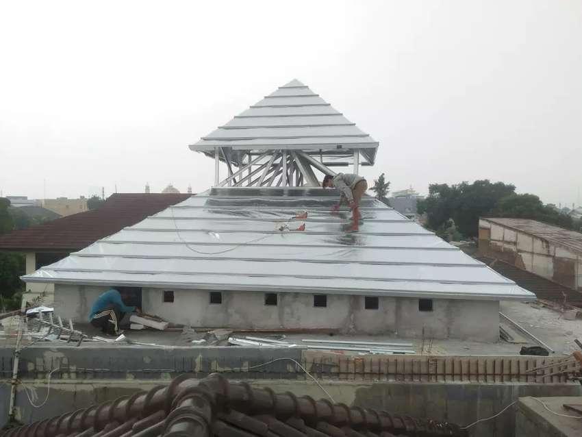 Rangka Atap Baja Ringan Konstruksi Dan Taman 768649798