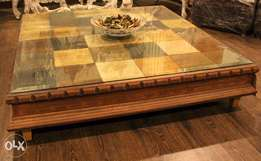 Lowrise Colourfull Center Table (4'x4')