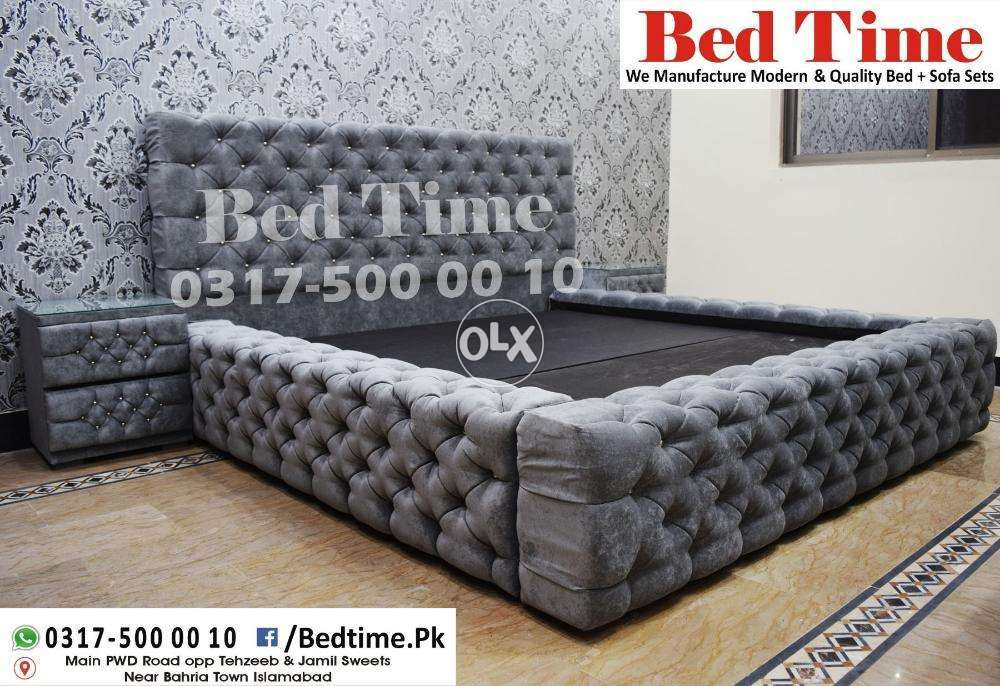 Cool Grey Royal Monoco Bed Set Bed Time With Warranty Machost Co Dining Chair Design Ideas Machostcouk
