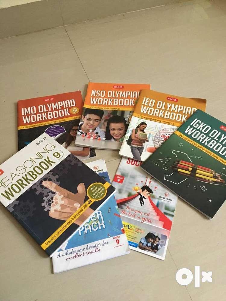 NSO, IMO, IEO, NCO Olympiad books class 9 for sale - Books