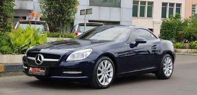 Mercedes Benz SLK200 Panoramic Roof 2014 Km 10rb Antik
