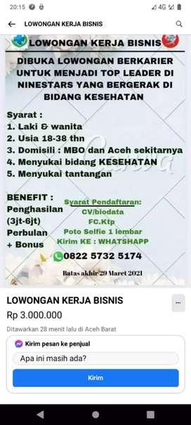 Aceh Aceh Cari Lowongan Terbaru Di Indonesia Olx Co Id