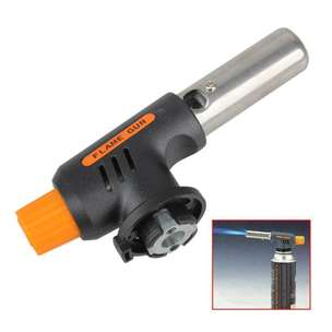 Portable Gas Torch - Black/Yellow