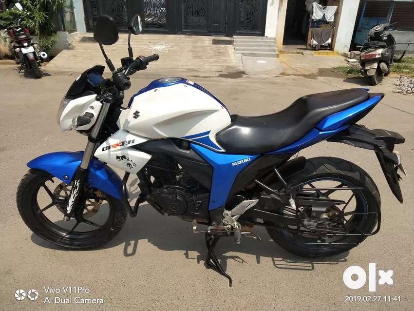 Suzuki Gixxer 2016 Motorcycles 1502294119