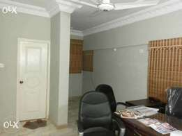 6000 sq ft office at shara e faisal semi furnished with all facilites