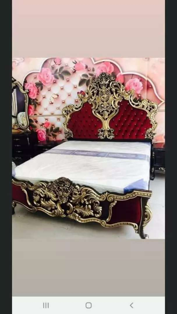 Fancy Bed Set Beds Wardrobes 1025263996