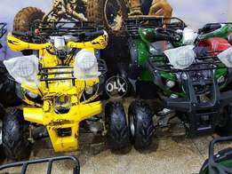 YELLOW GREEN 7 no Brand new zero meter quad atv bike for sell in pak