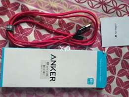 Anker Nylon Braided 6 Feet iPhone Lighting Cable