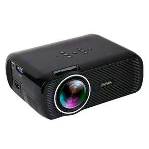 Proyektor projector mini 1800 Lumens + TV tunner Everycom X7