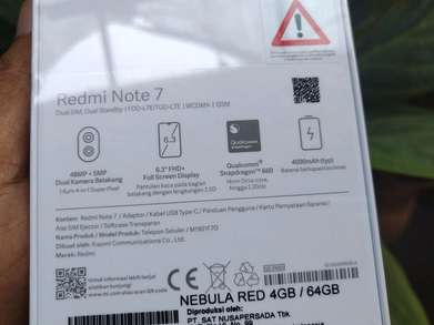 Xiaomi Redmi Note 7 Nebula Red Limited 4/64gb TAM