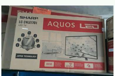 TV LED SHARP Aquos 24 Inc ( free ongkir area palembang )