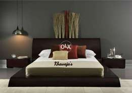 khawaja's super offer Bed with dressing on order any color