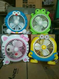 Kipas box fan Karakter unik