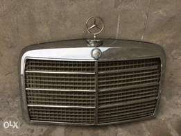 Mercedes Benz W114 W115 Front Grill 1968 to early 1973 Switch